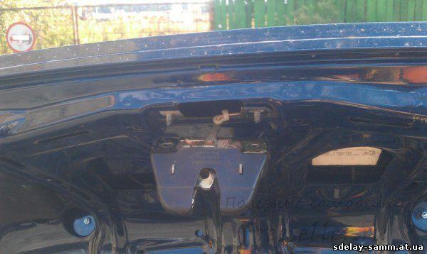 Открывание багажника с кнопки