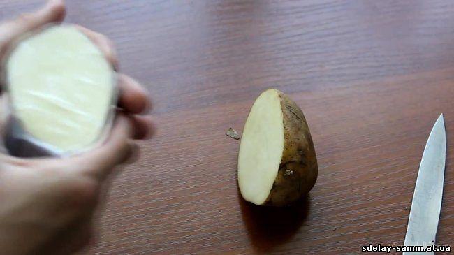 Радио из картошки