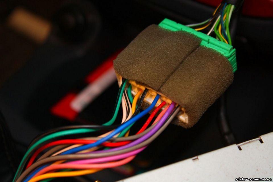 Замена антенны ланос