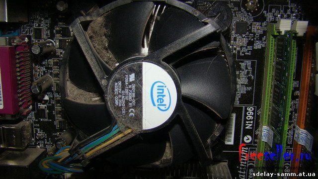Чистка компьютера от пыли своими руками