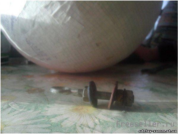 Самодельный Диско - шар с моторчиком